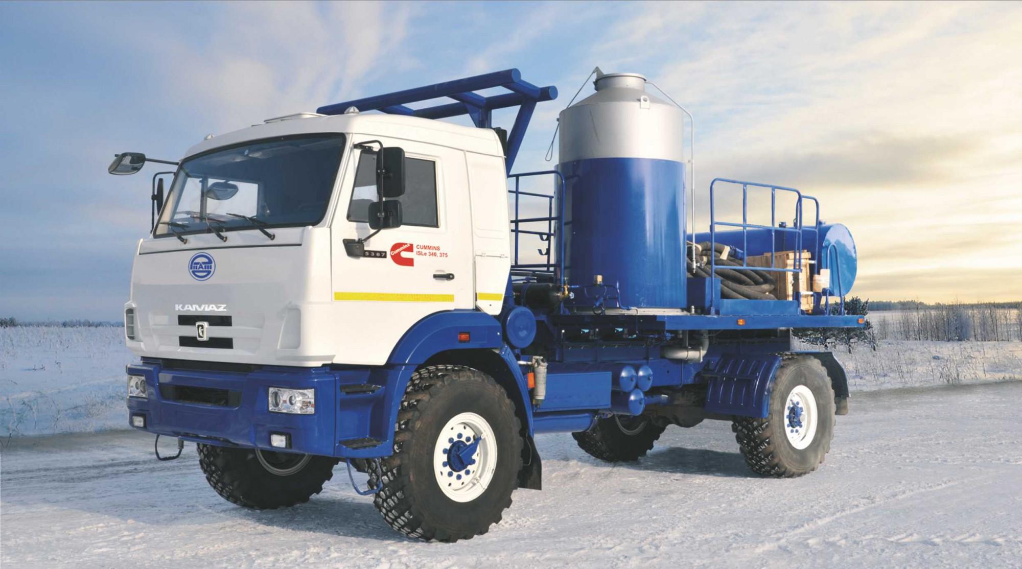 АДПМ 12/150 (Агрегат для депарафинизации скважин) с двигателем Cummins ISLe-C340