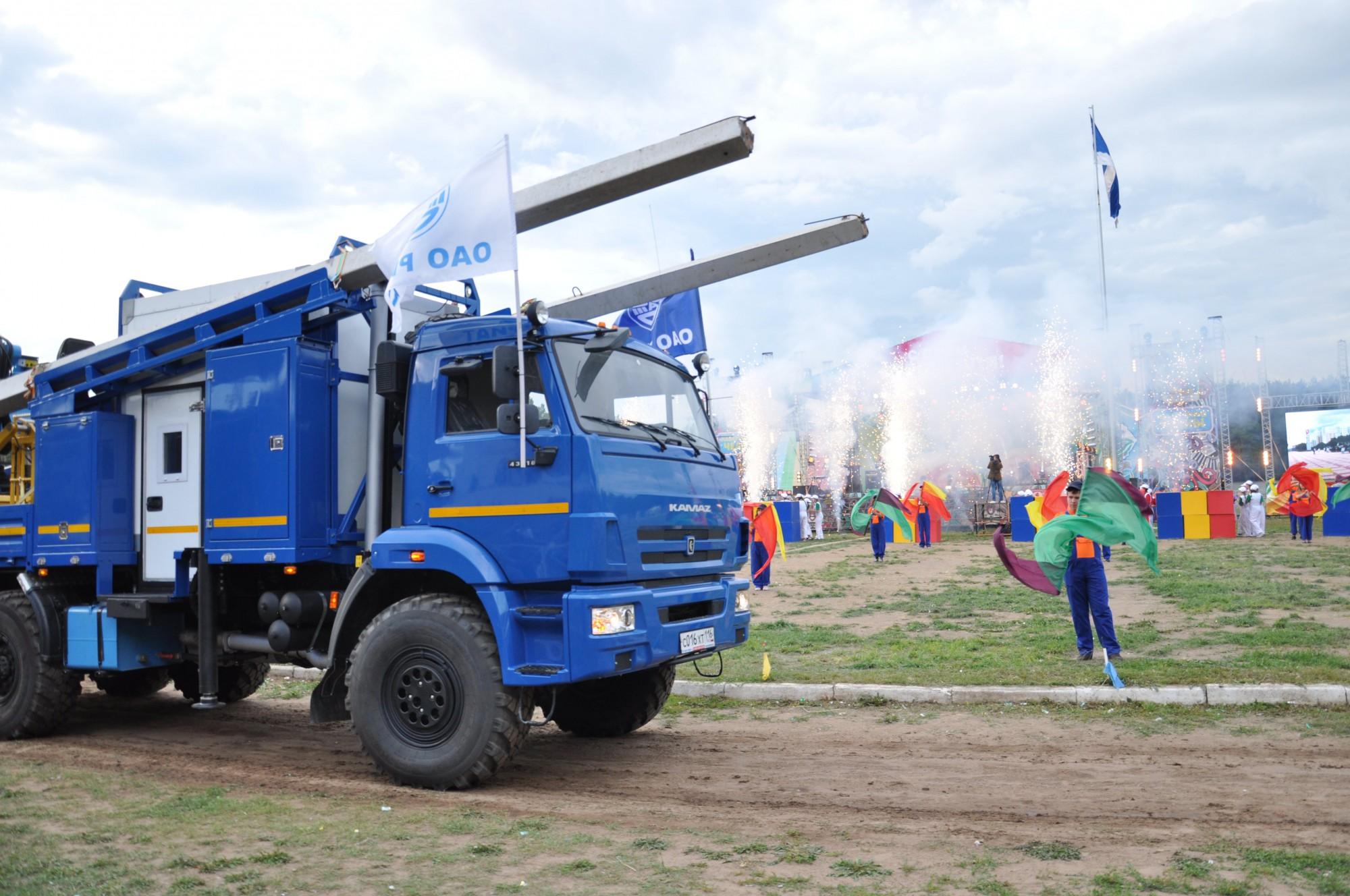 День строителя 2017 - МАРС Опоровоз