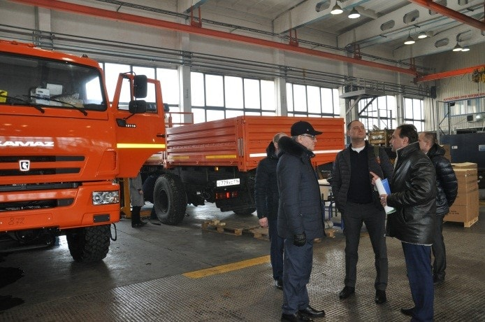 Компания ООО Сервис Интегратор посетила ОАО РИАТ