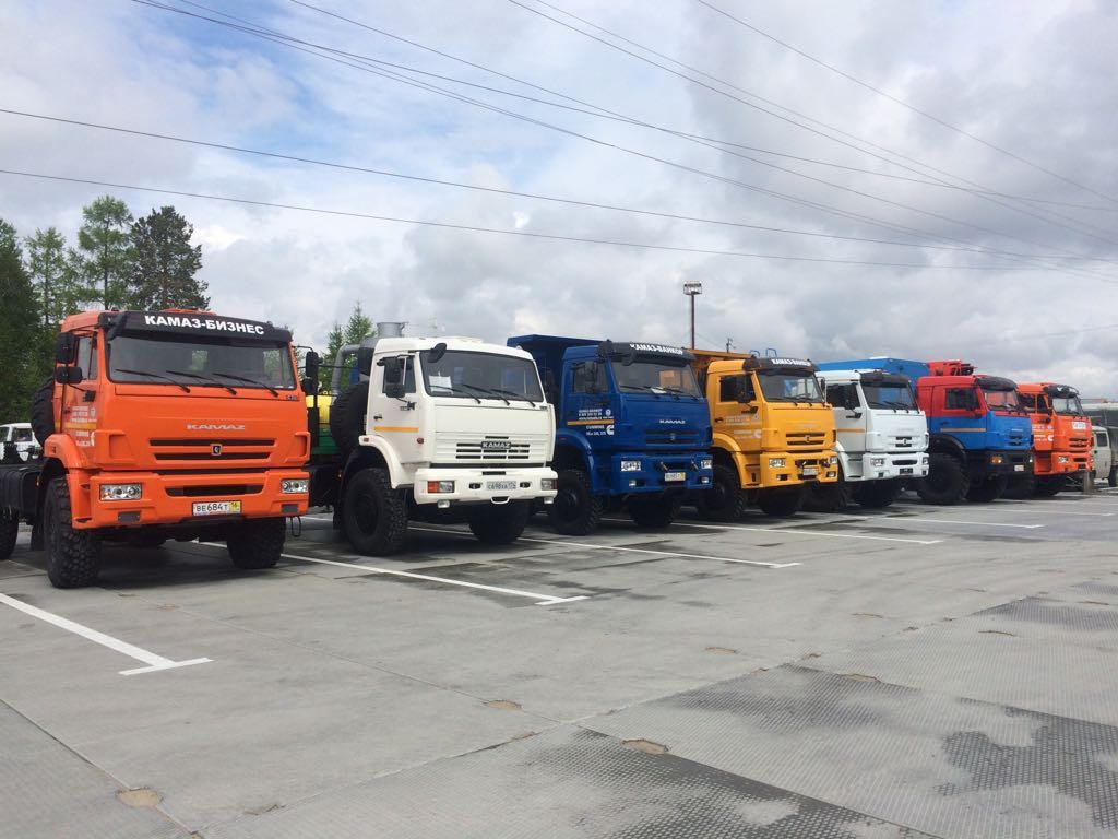 Открытие дилерского центра КАМАЗ в г. Ноябрьск
