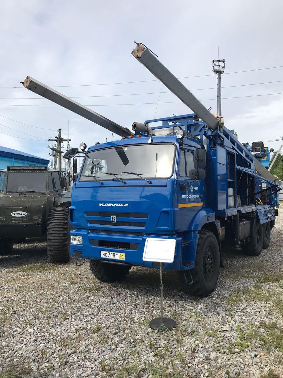 МАРС на выставке мастерства по ремонту и обслуживанию воздушных линий.