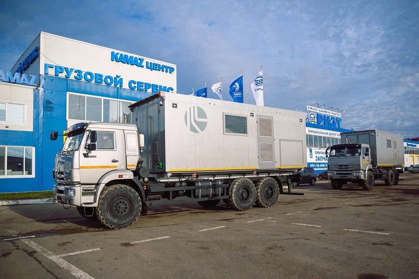 Передвижные водогрейные установки на шасси спецавтомобиля КАМАЗ-РИАТ 43118-RR