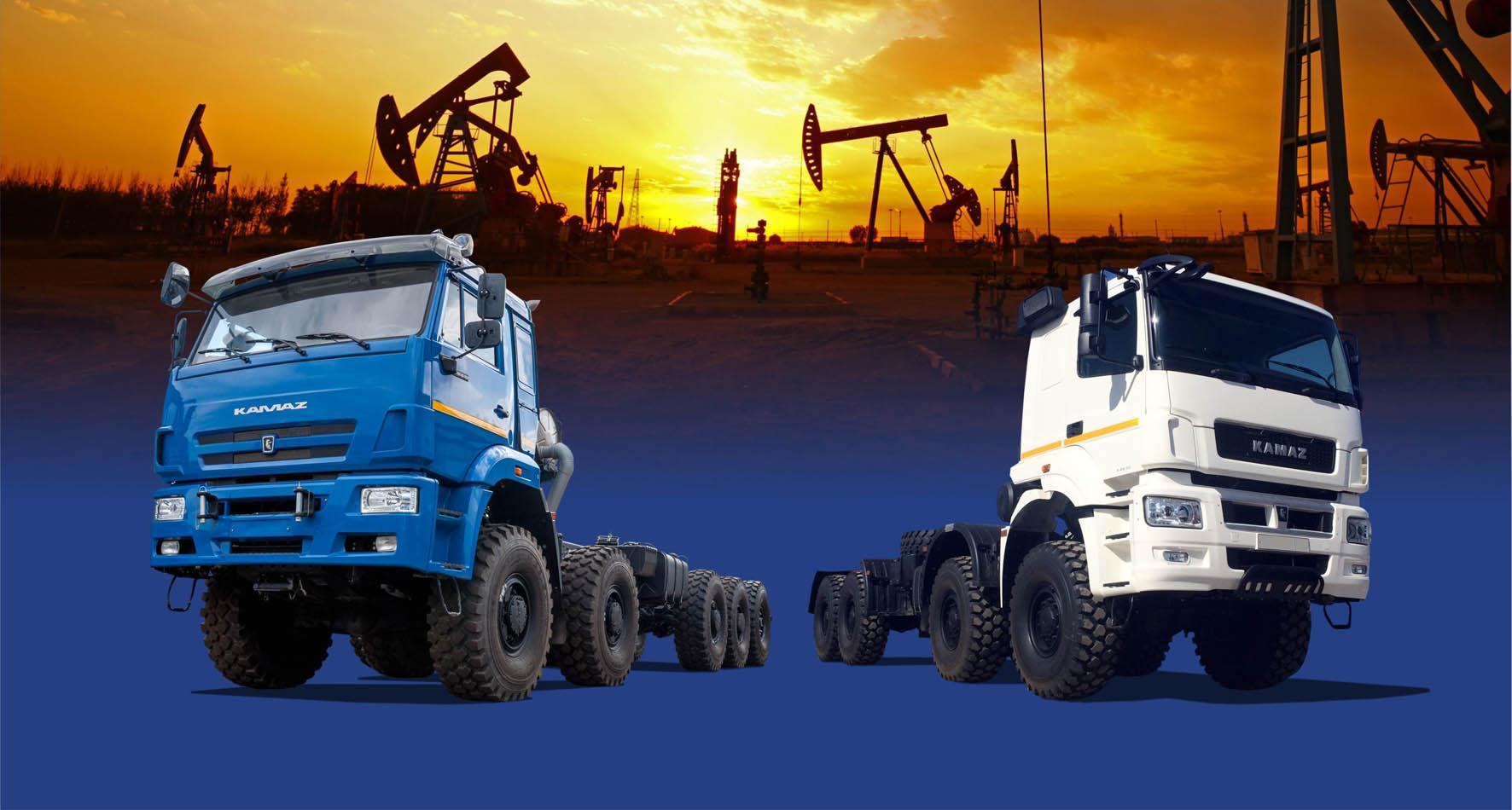Многоосные спецшасси РИАТ для нефтесервиса