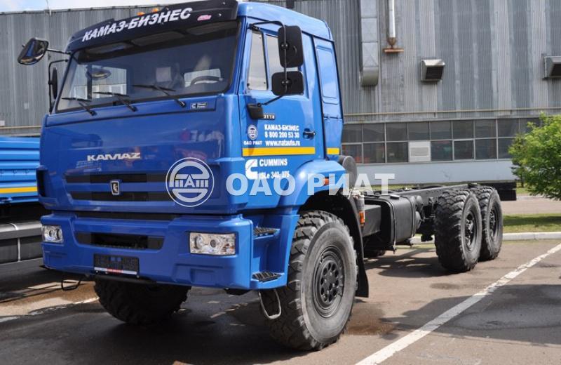 Автомобили-шасси КАМАЗ 43118-3090-76-RR 6x6
